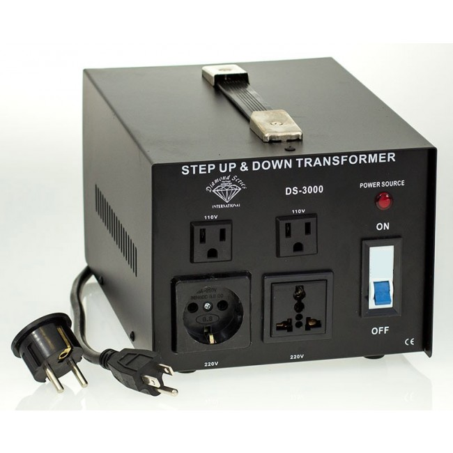 2000w Watt Voltage Converter Transformer 110V to 220 Volt
