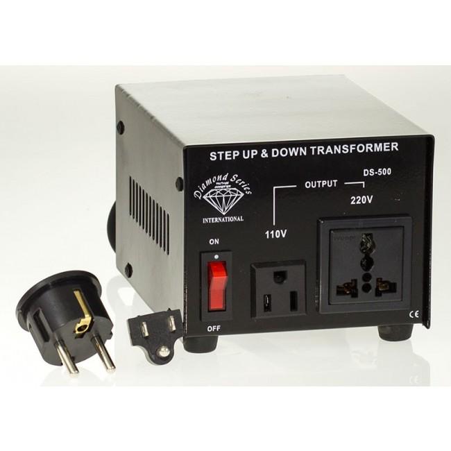 500 Watt Step Up Down 110V to 220V Voltage Converter Transformer Adapter US Plug