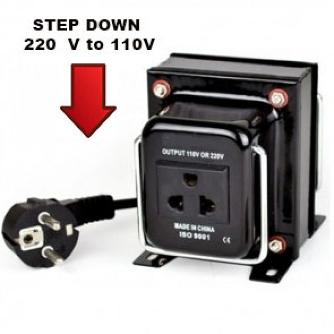 Voltage Converters Guide for Step Down 220 to 110 Volts