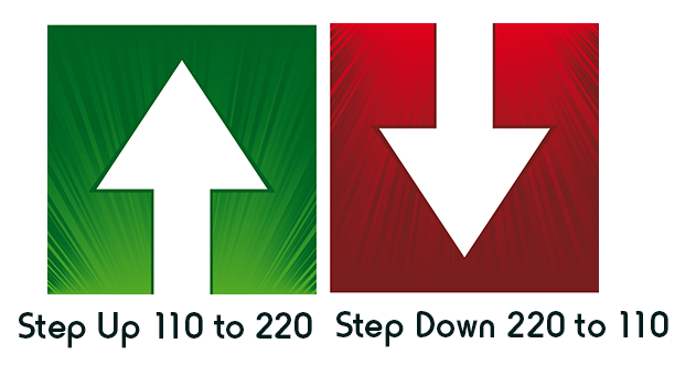 Do I need a step up or step down converter? How to get from
